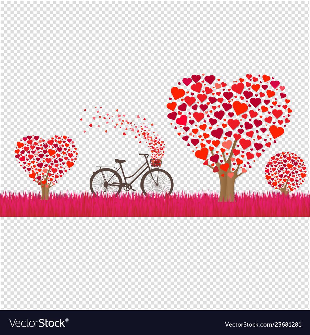 Happy valentines day border