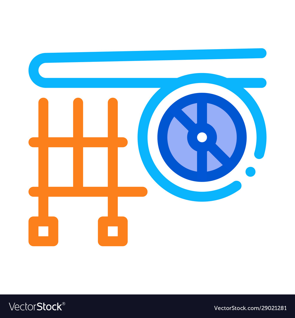 Plane engine wing icon outline