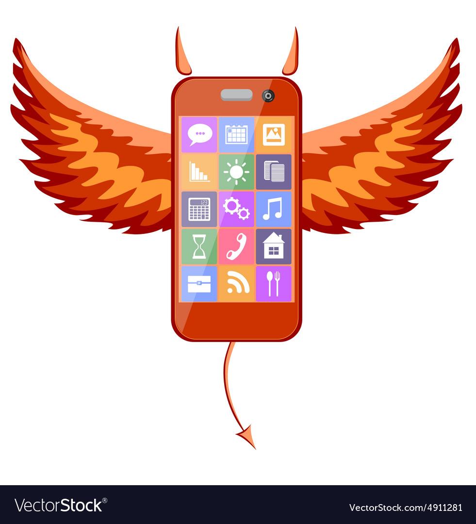 Smartphone devil