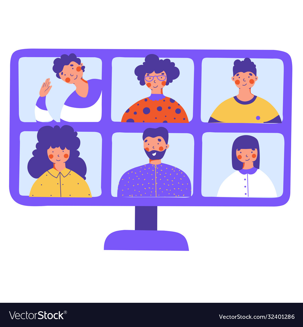 Home quarantine concept online education concept