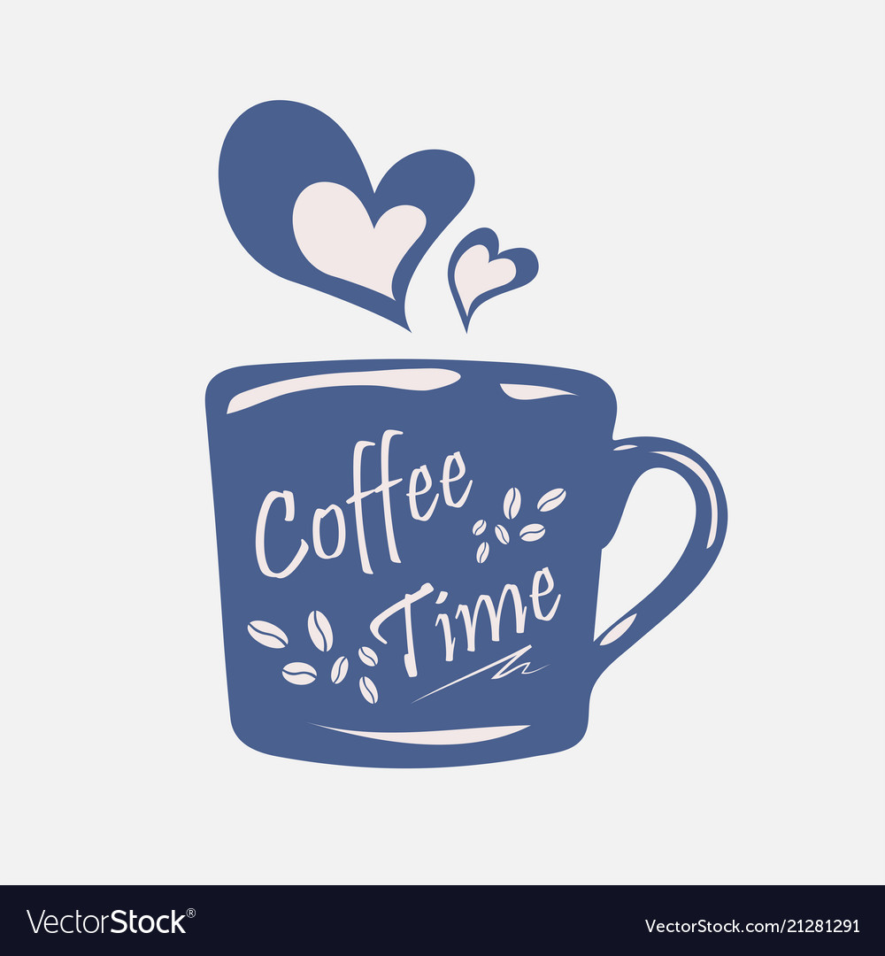 Coffee time on coffee cupsmoke transform to
