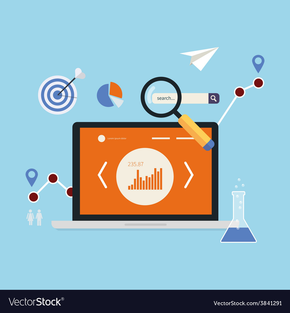 Market research icons