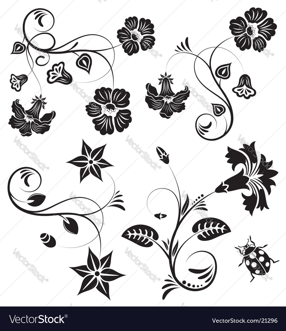 Black And White Decorative Wallpaper