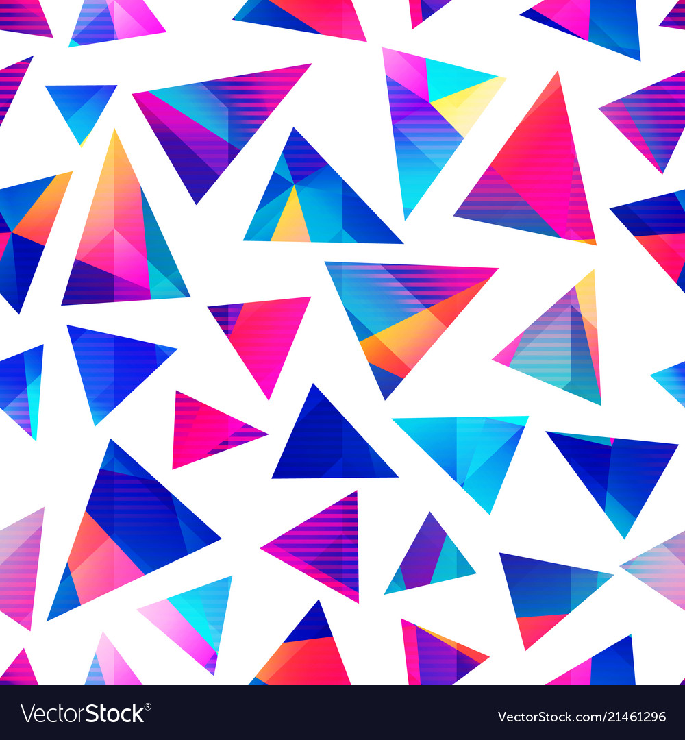 Bright triangle pattern