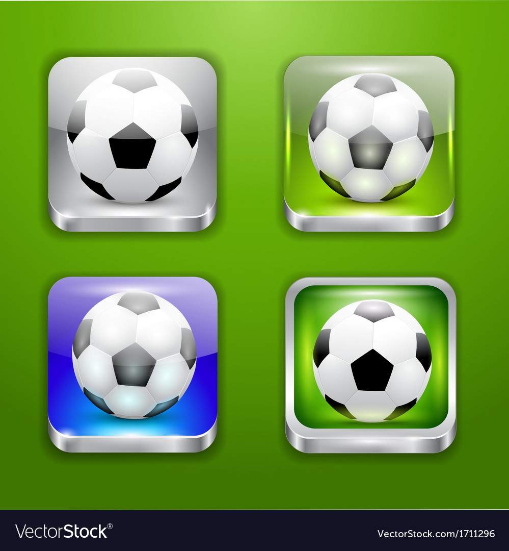 The app icons-soccer ball