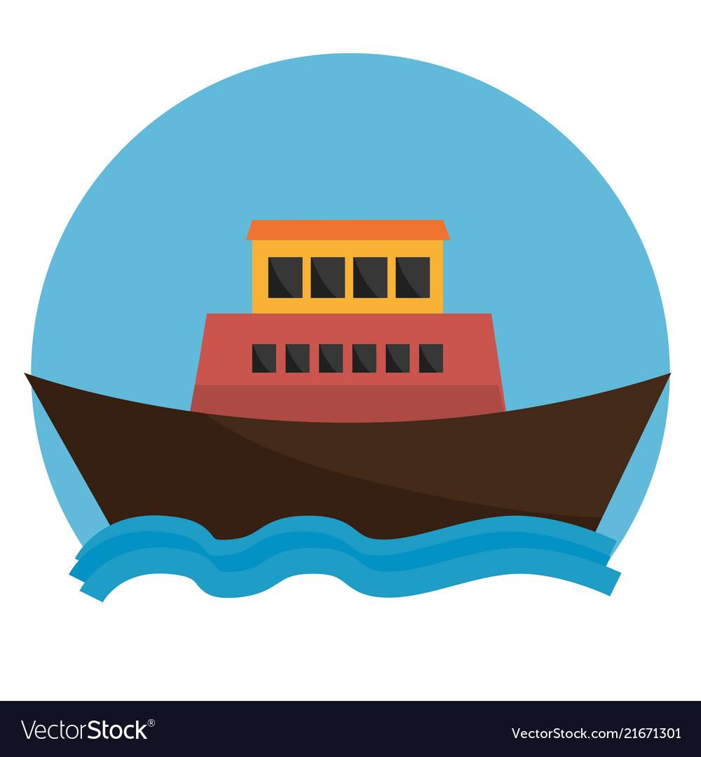 Boat transport marine icon graphic