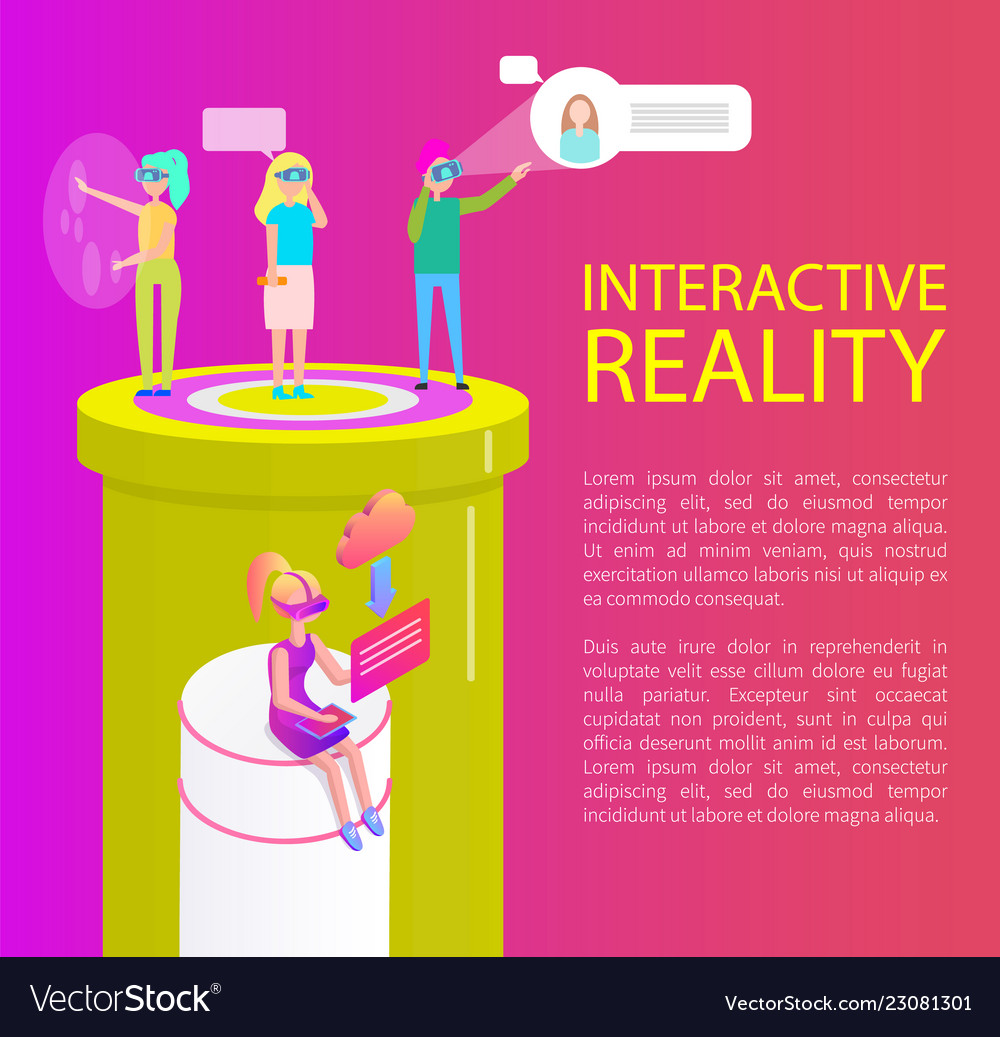 Interactive reality items set