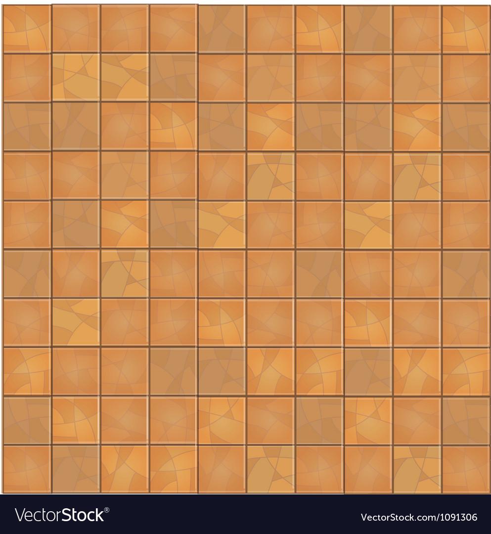 Brown floor tiles seamless background