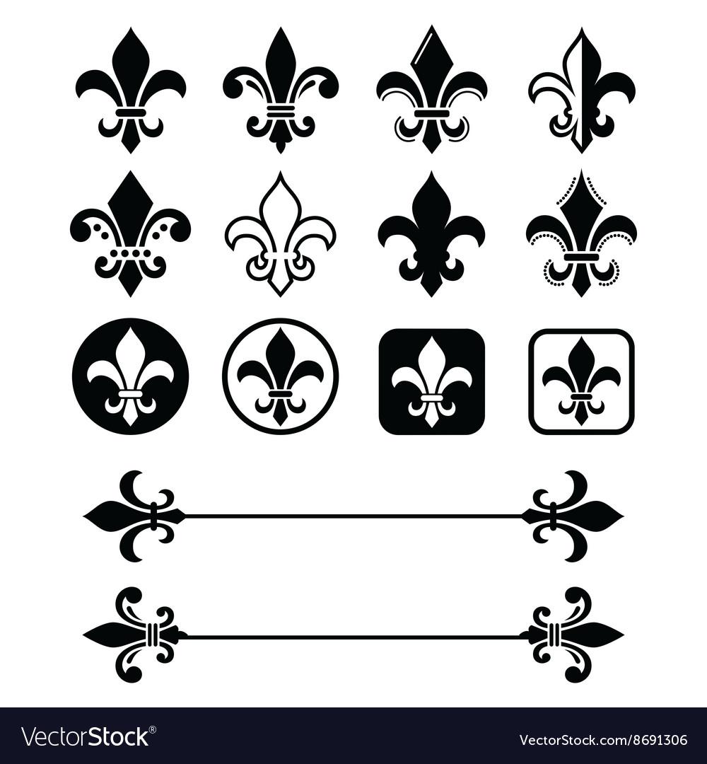 Fleur de lis - French symbol design Scouting