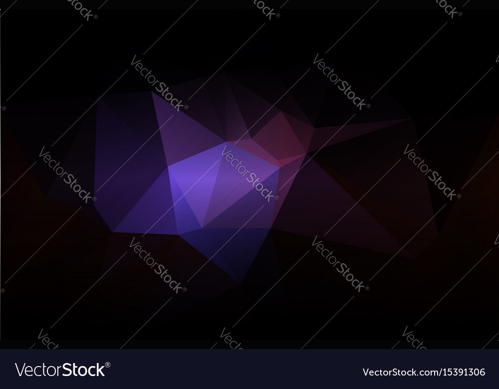 Purple brown black low poly background