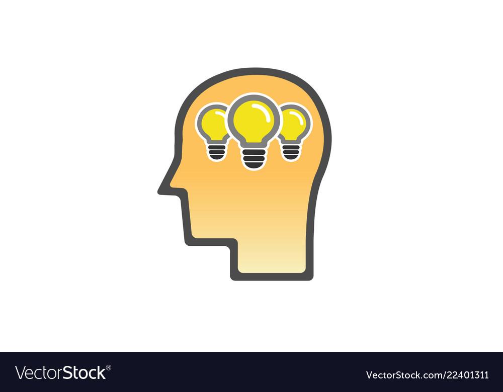 Head lamp idea logo