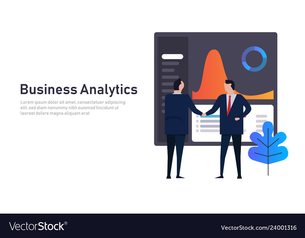 Analytics business data dashboard financial
