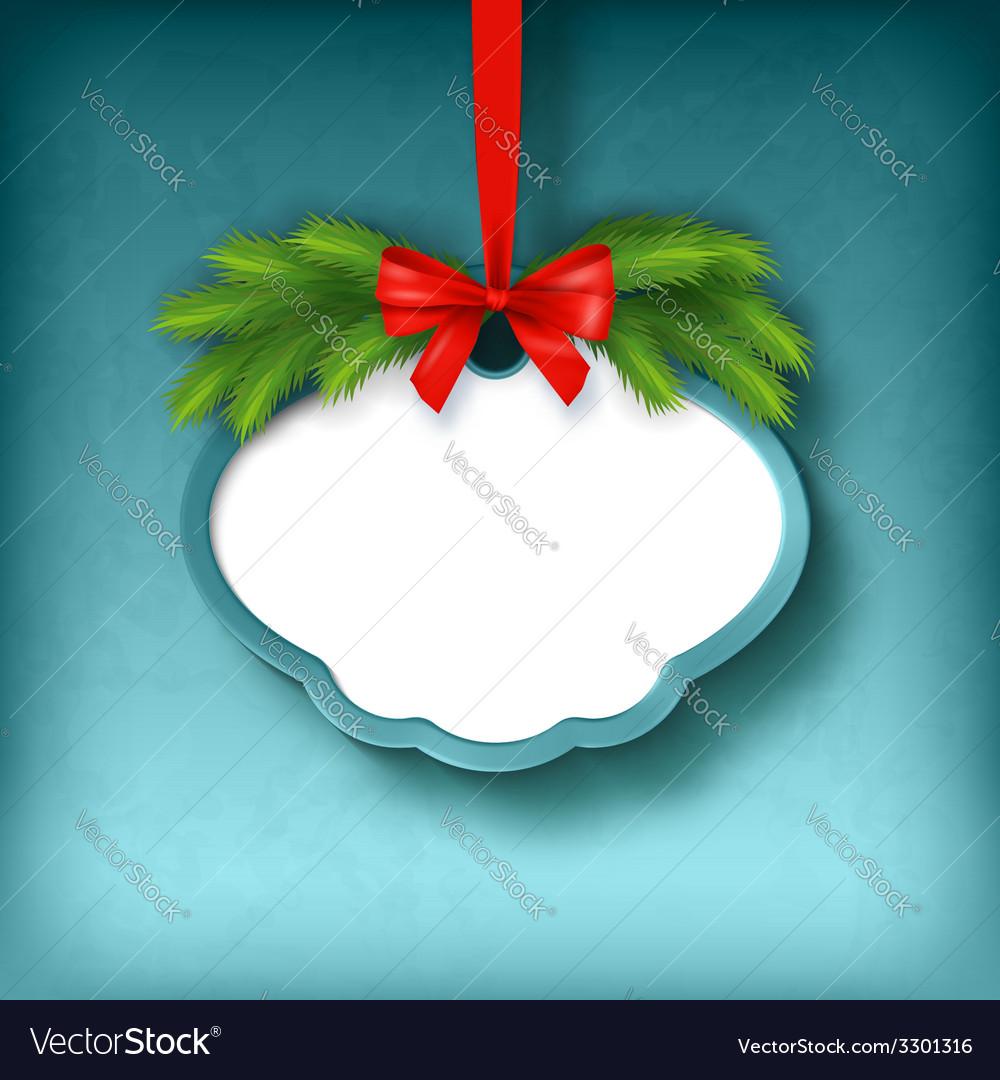 Christmas Greeting Frame Card