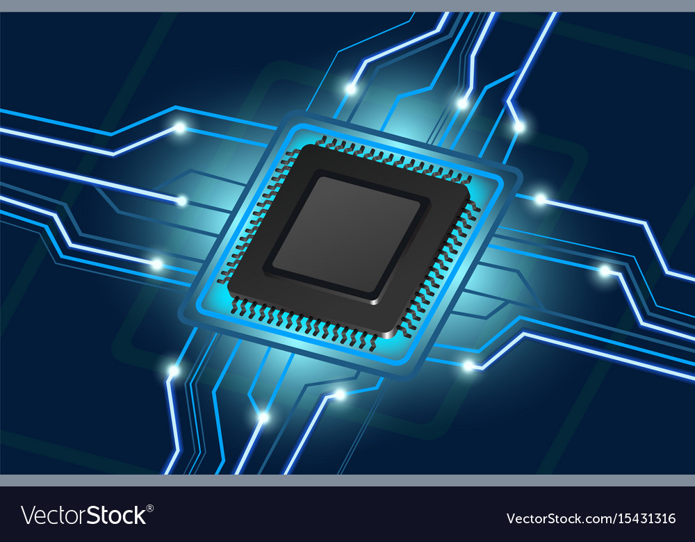 Computer processor electronic technology