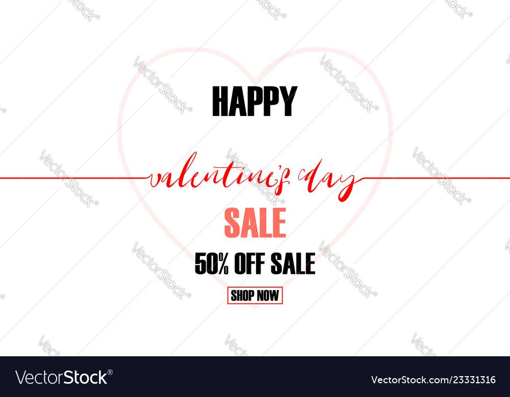 Creative valentines day sale background