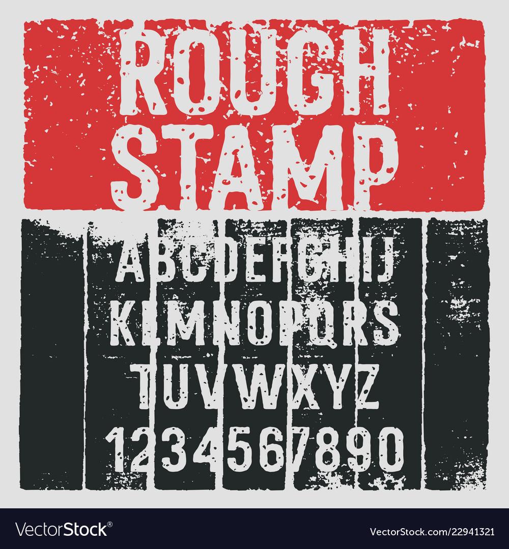 Grunge alphabet 005