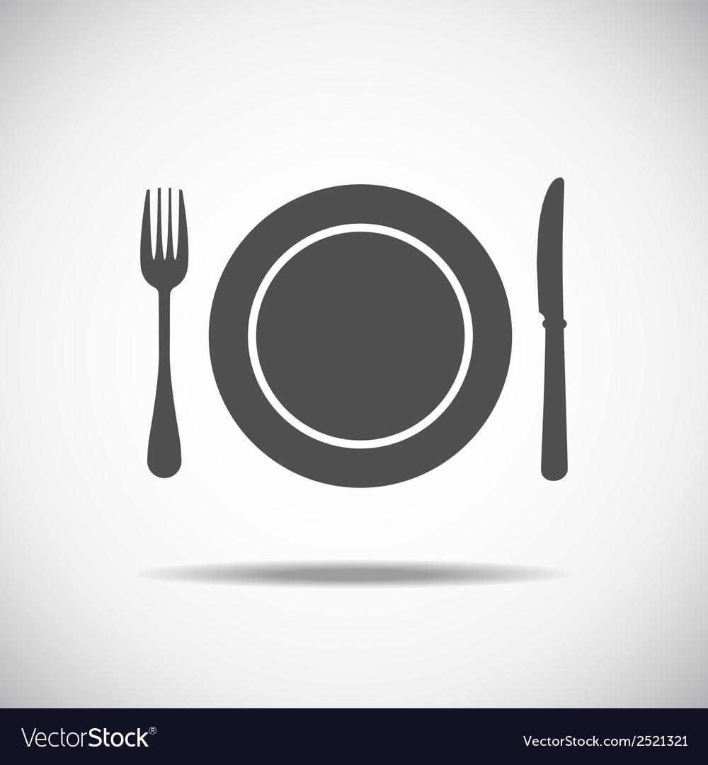 Knife plate fork