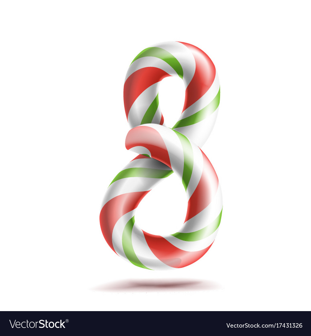 8 number eight 3d number sign figure 8