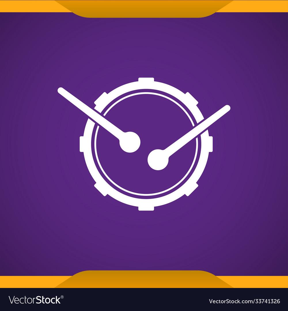 Drum music instrument icon