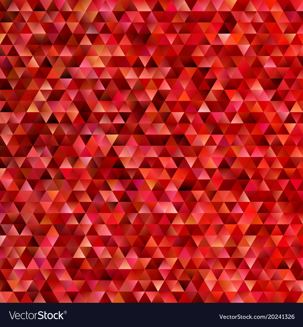 Geometric abstract regular triangle mosaic