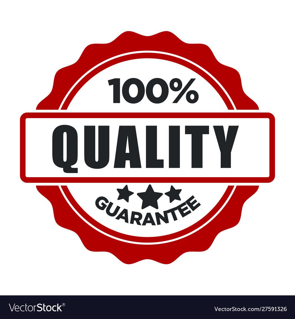 Quality guarantee warranty seal best choice