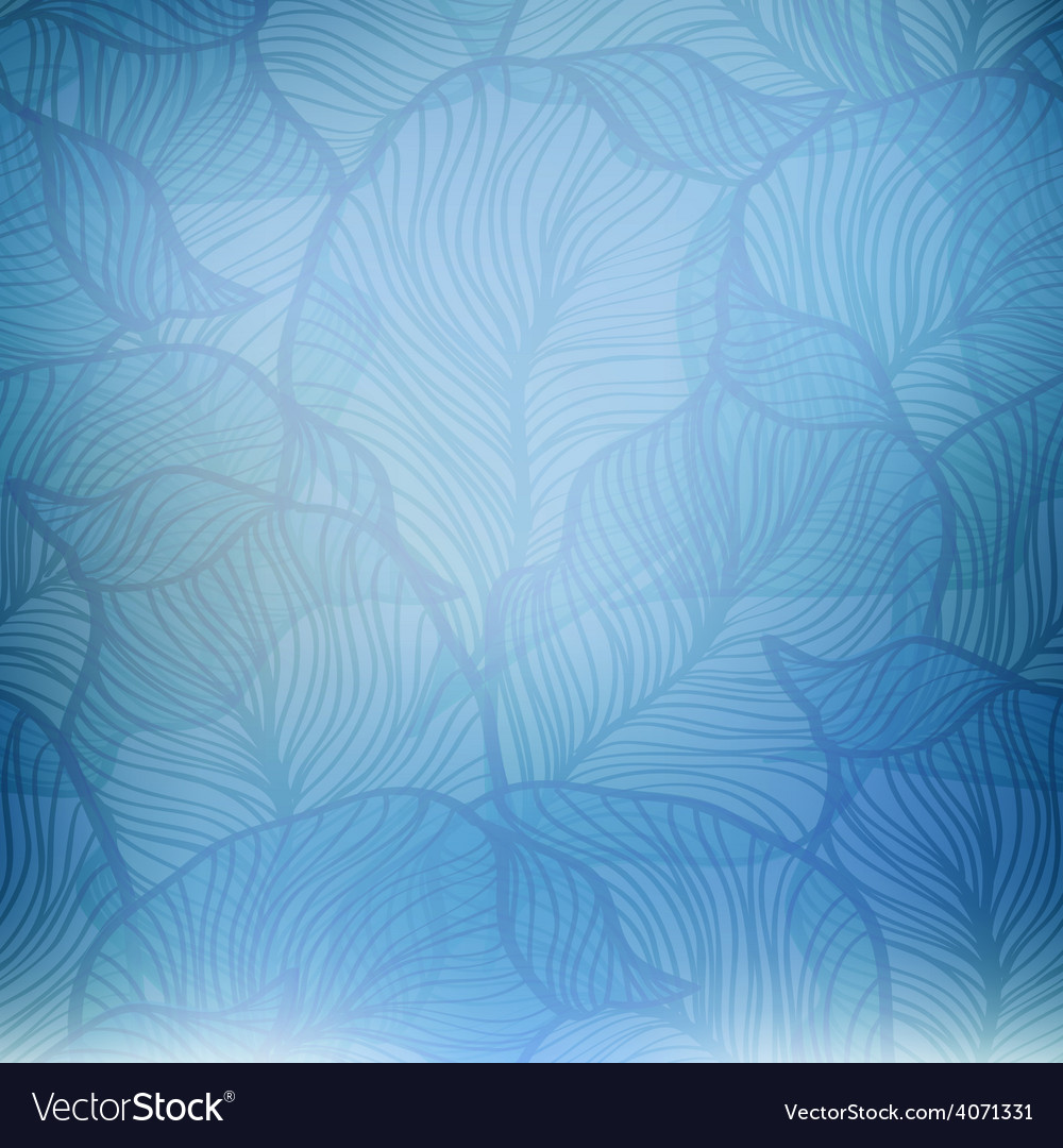 Abstract blue vintage background