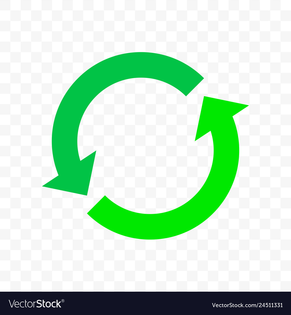 Recycling icon arrow symbol eco waste reuse cycle