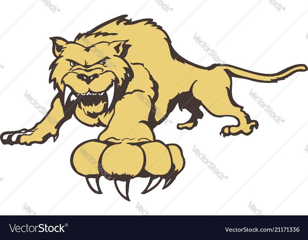 Tiger cartoon character