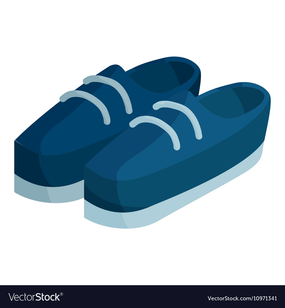 Boots icon isometric style vector image