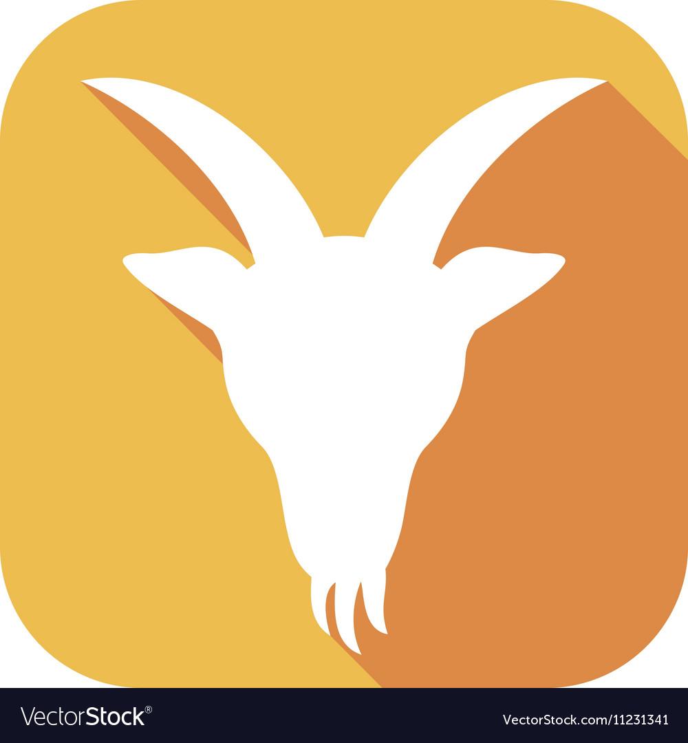 Goat Icon vector image