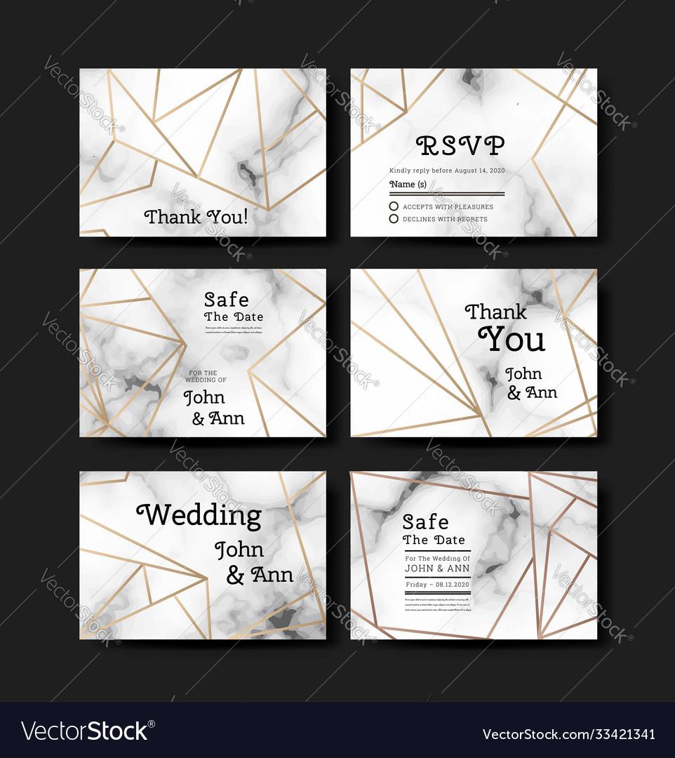 Series invitation wedding in art