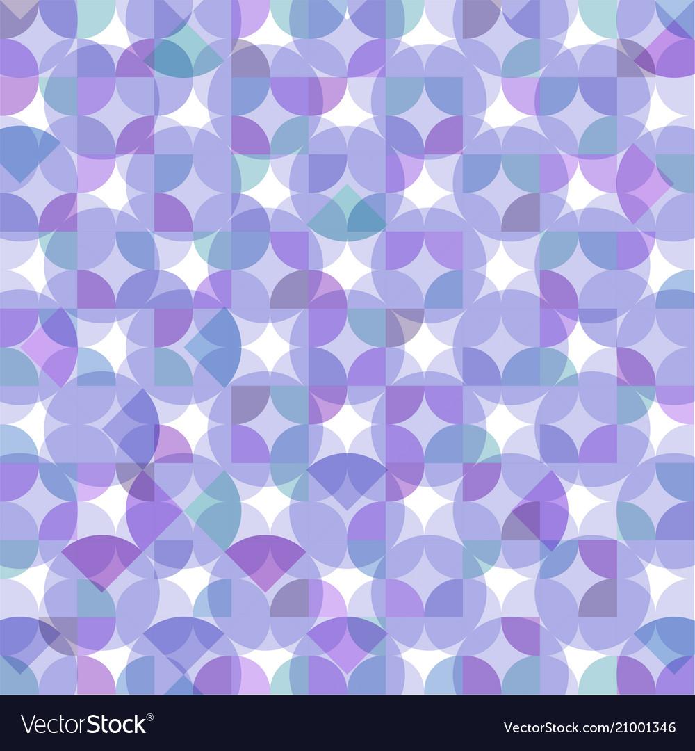 Modern of purple round geometrical pattern with