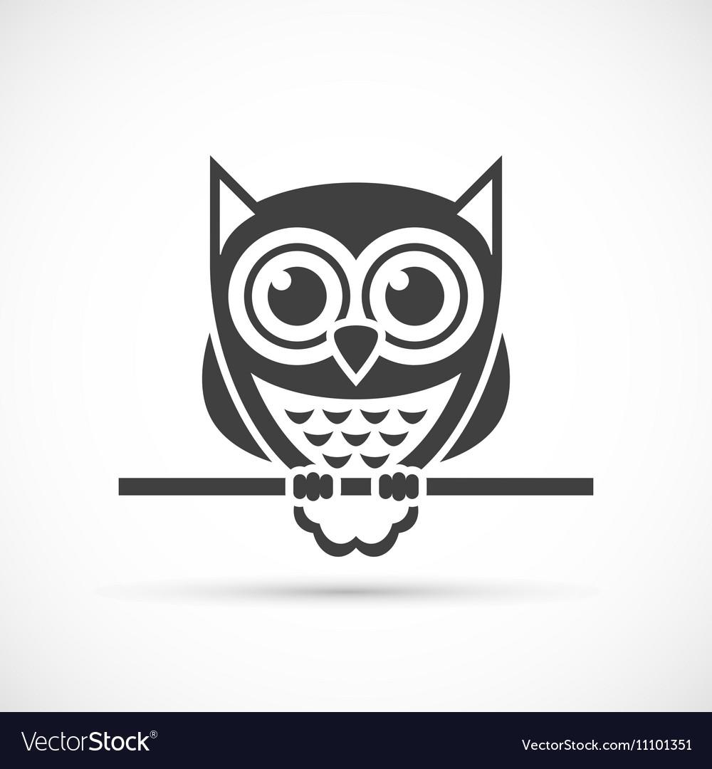 Owl icon Royalty Free Vector Image - VectorStock