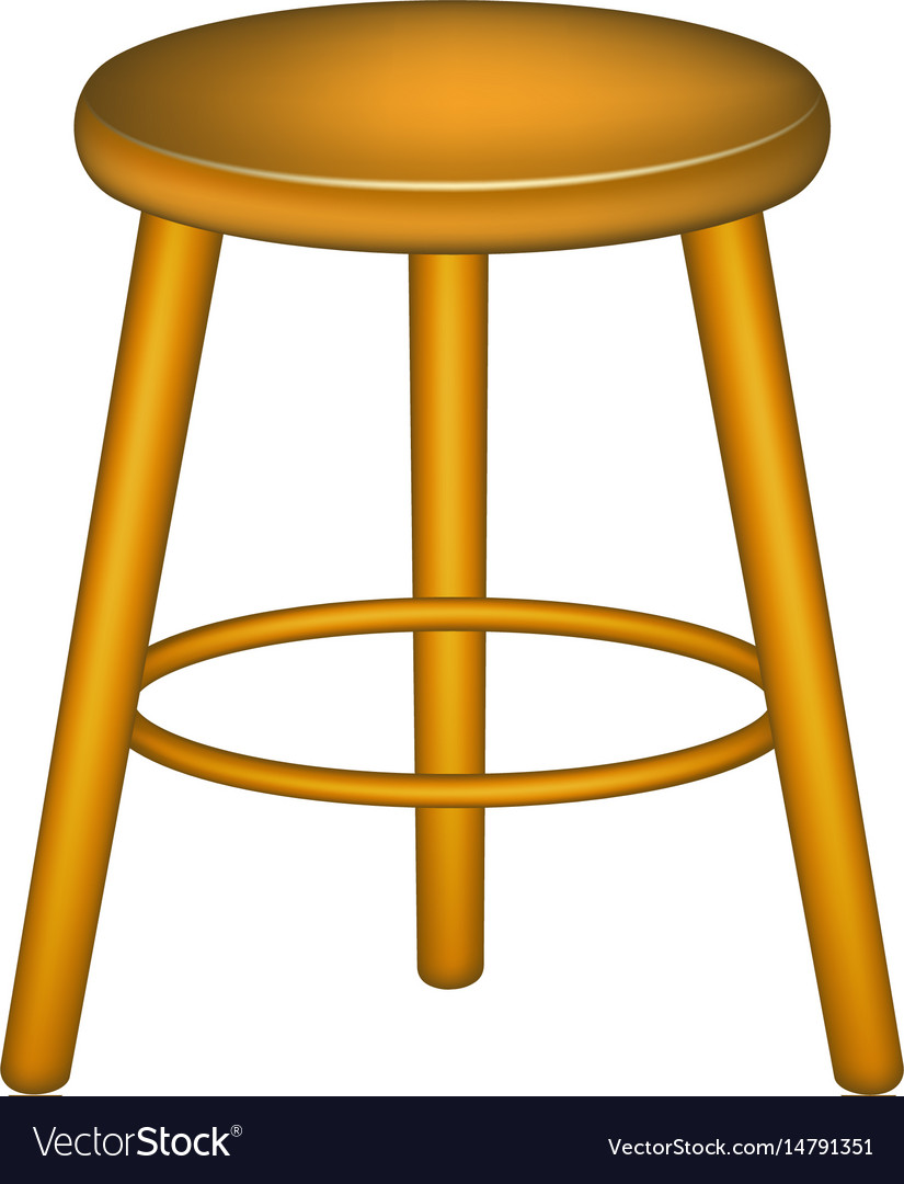 Pleasant Wooden Stool In Retro Design Gmtry Best Dining Table And Chair Ideas Images Gmtryco