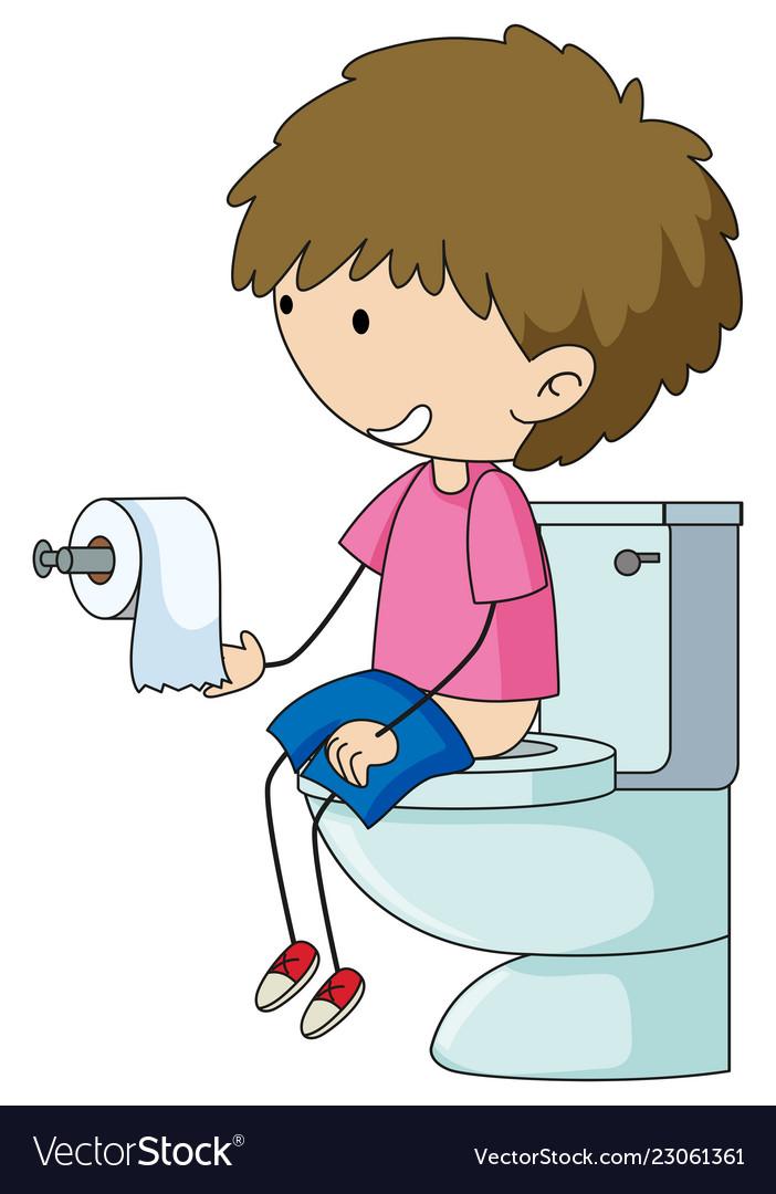 Free Clipart Flush Toilet   Free Images at Clker.com - vector clip art  online, royalty free & public domain