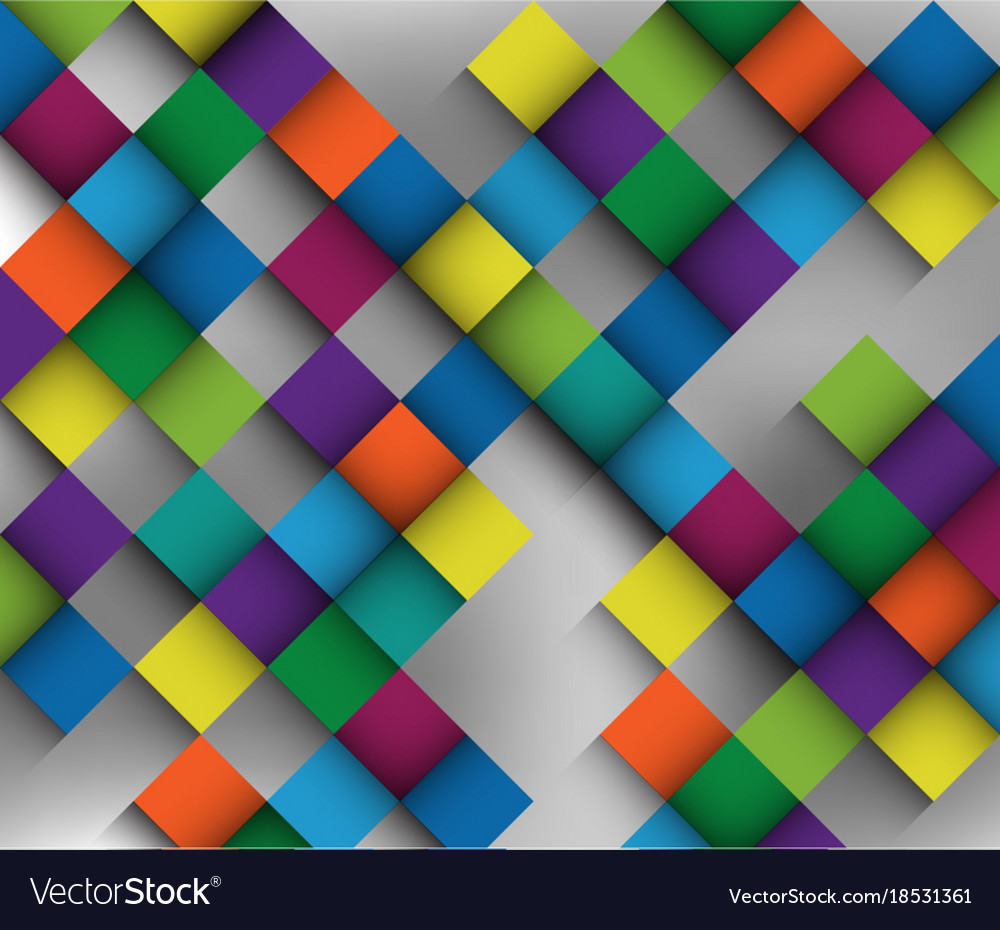 Great colorful in shoadow fade with harmony and vector image