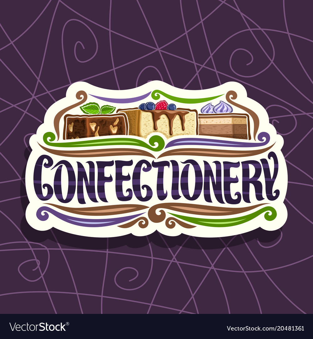 Logo for confectionery