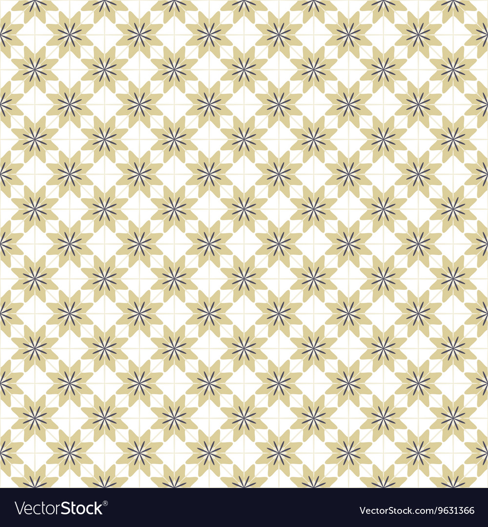 Brown Blue And White Graphic Seamless Pattern