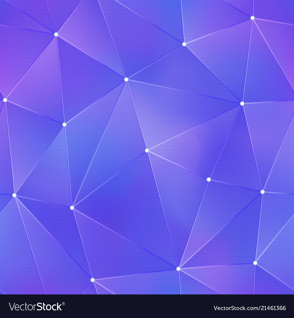 Purple tech triangle pattern