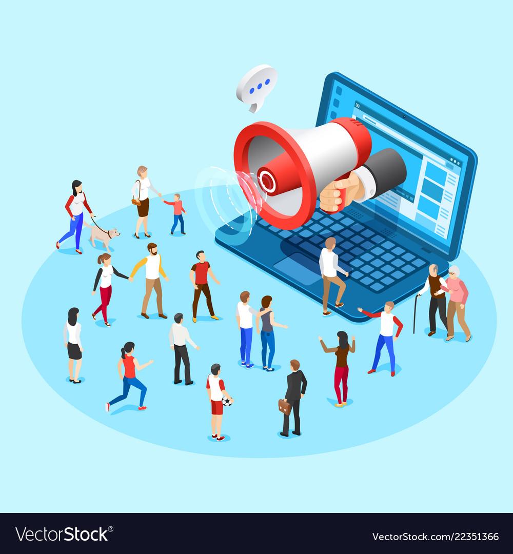 Web promotion marketing advertising social media