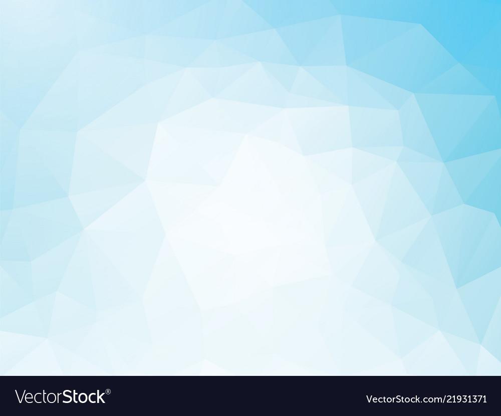 White Blue Geometric Wallpaper Background