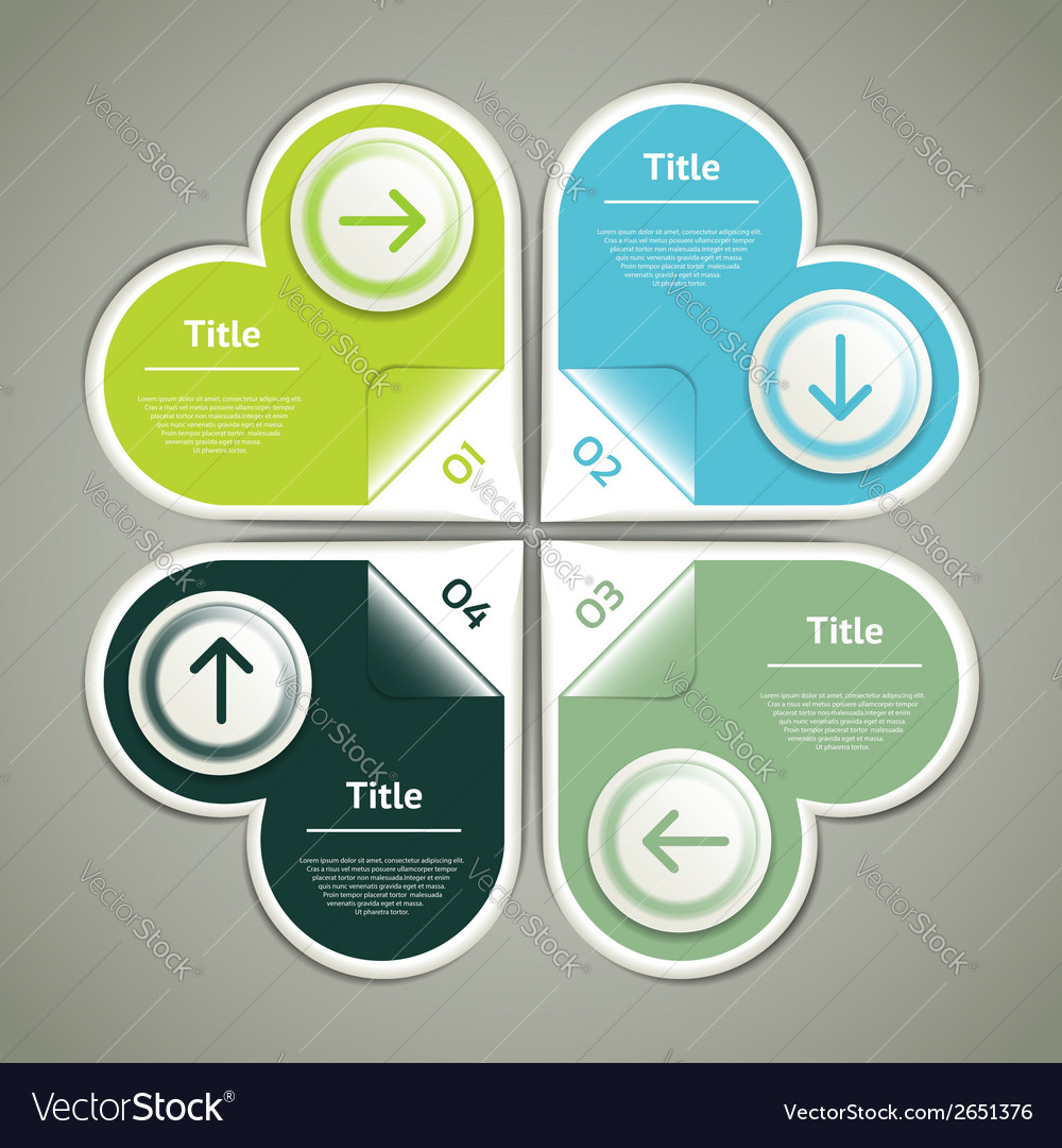 Progress Background Product Choice or Version vector image