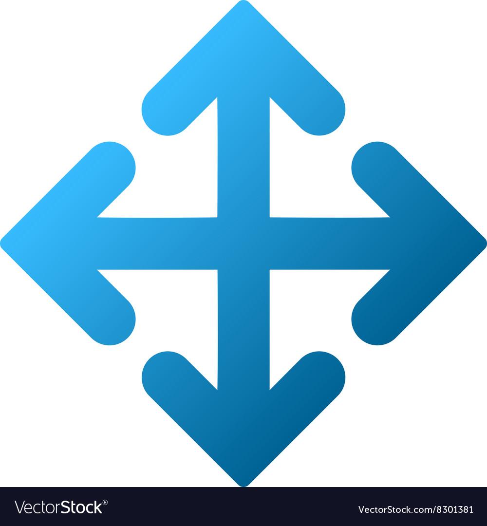 Direction Variants Gradient Icon