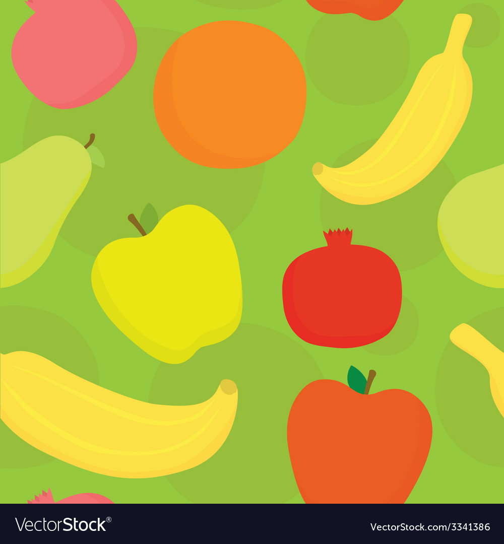 Fruits seamless pattern