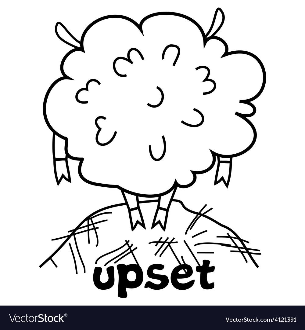 Upset sheep