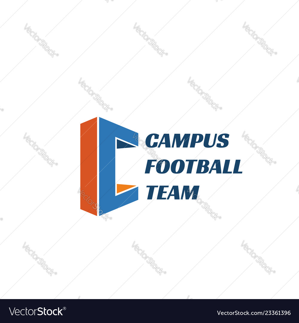 Emblem for football team