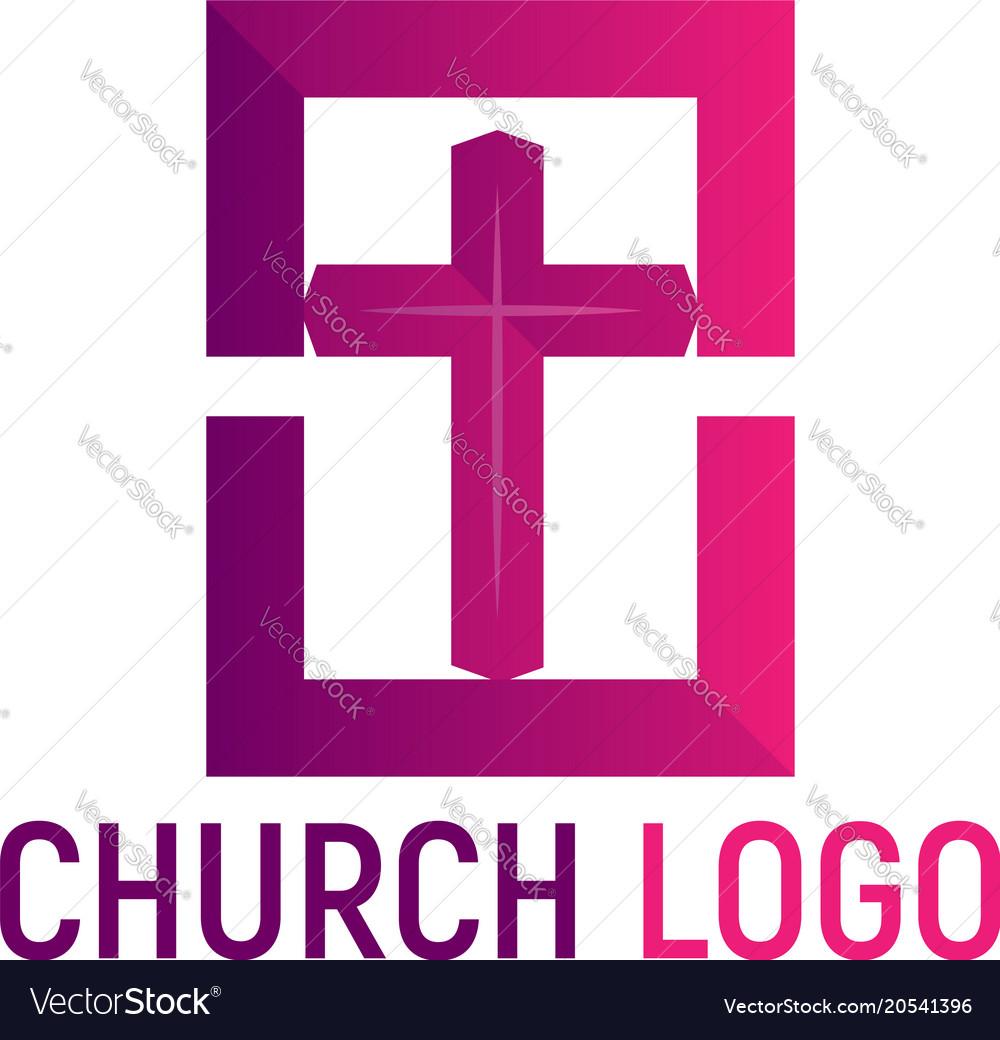 Logo of the church christian symbols