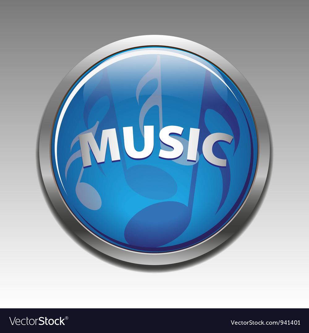 Musical symbols vector image