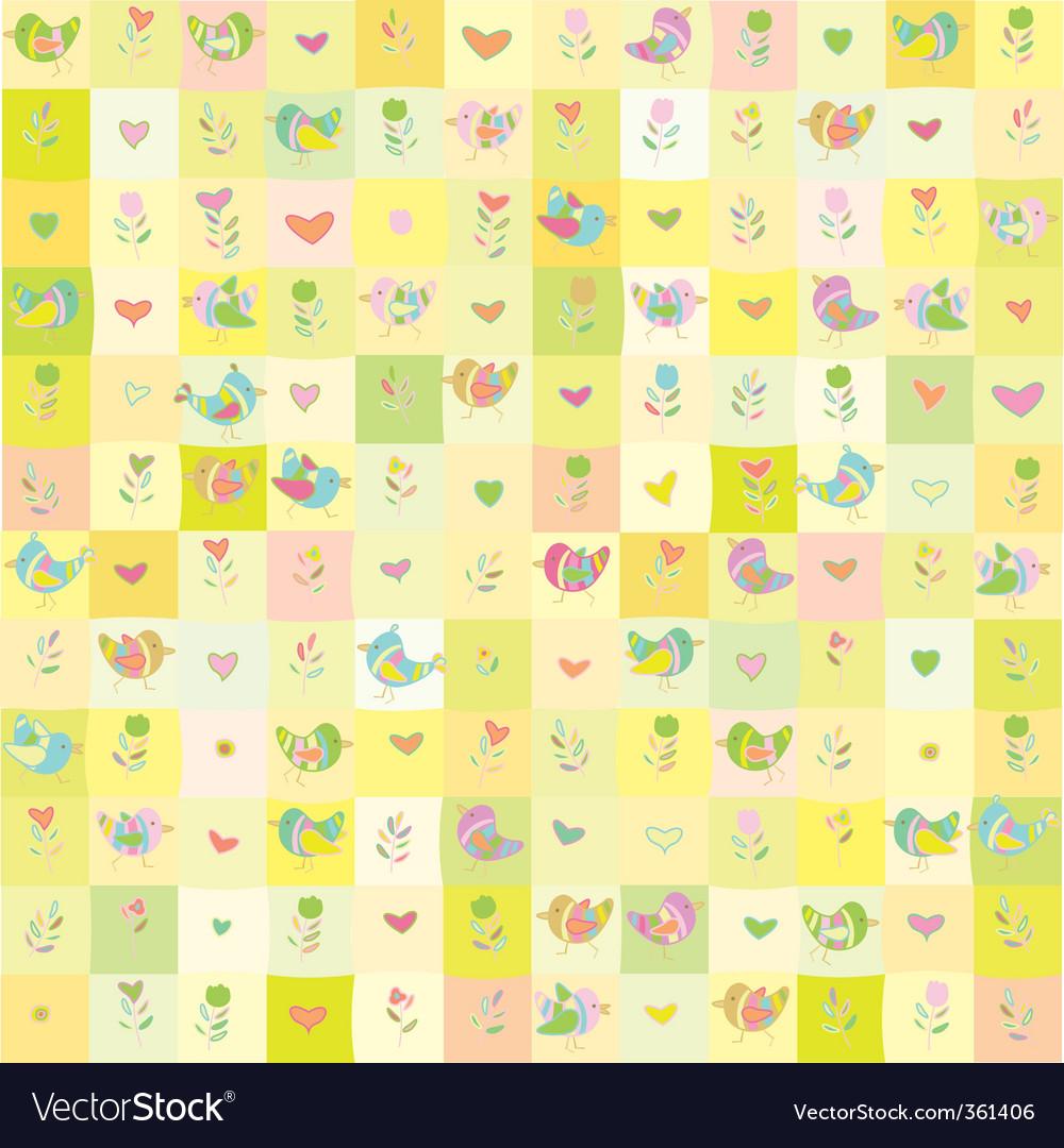 Cute floral pattern