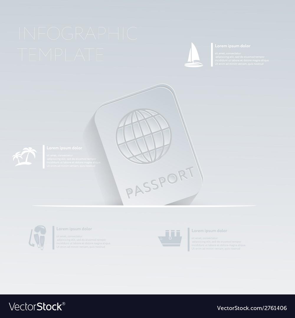 International passport Theme holidays Template